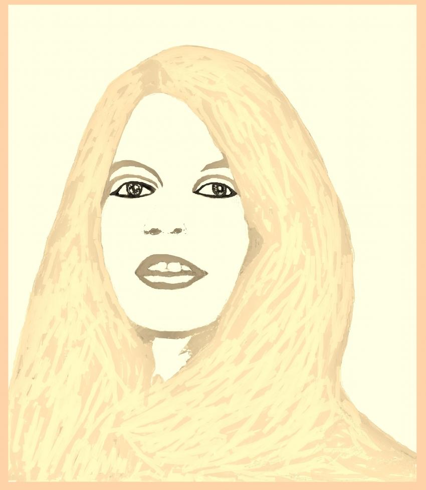 Brigitte Bardot by Vuilletjossjoss